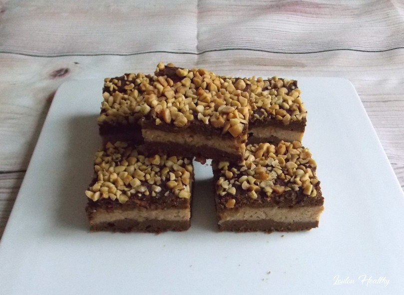 brownie à la courge, chocolat et cacahuète3