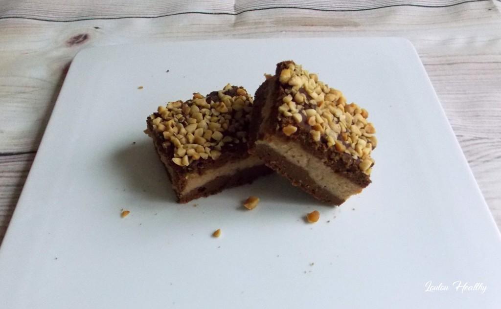 brownie à la courge, chocolat et cacahuète4