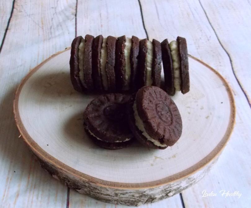 biscuits façon oréo au citron et crerme au coco4