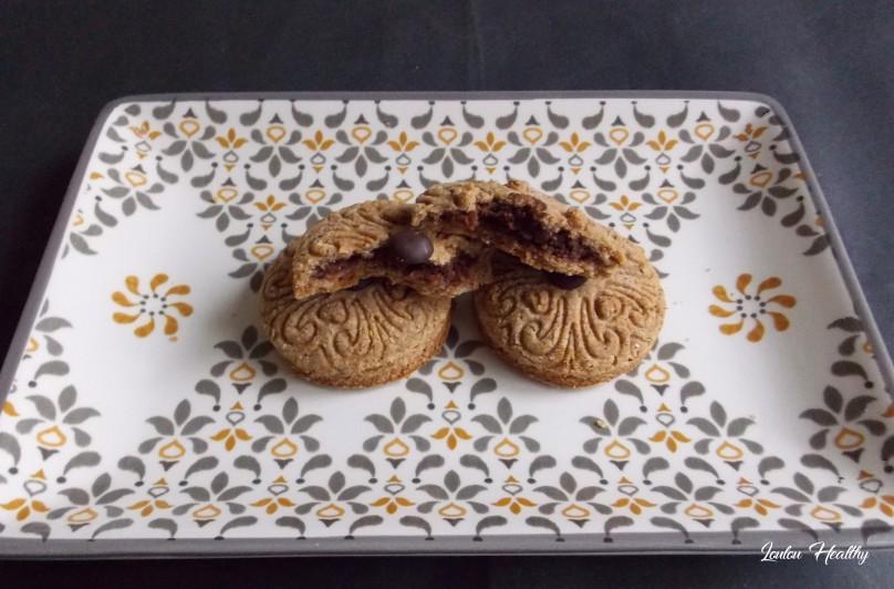 biscuitsaux épices fourrés noisettes, chocolat3