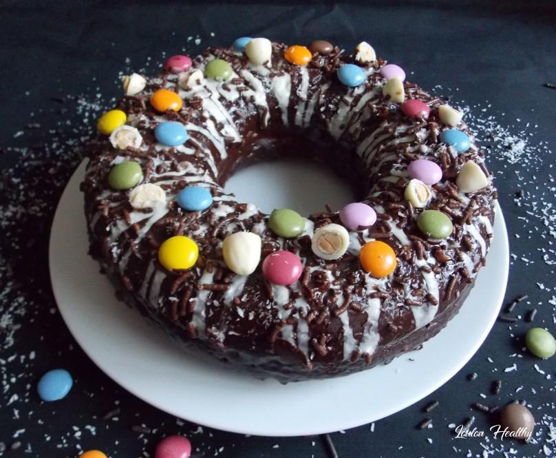 big donut au citron, noix de coco et chocolat2