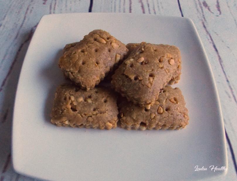 biscuits aux cacahuètes et chocolat