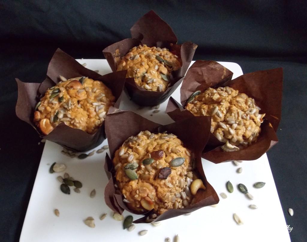 muffins à l'avoine et aux graines2