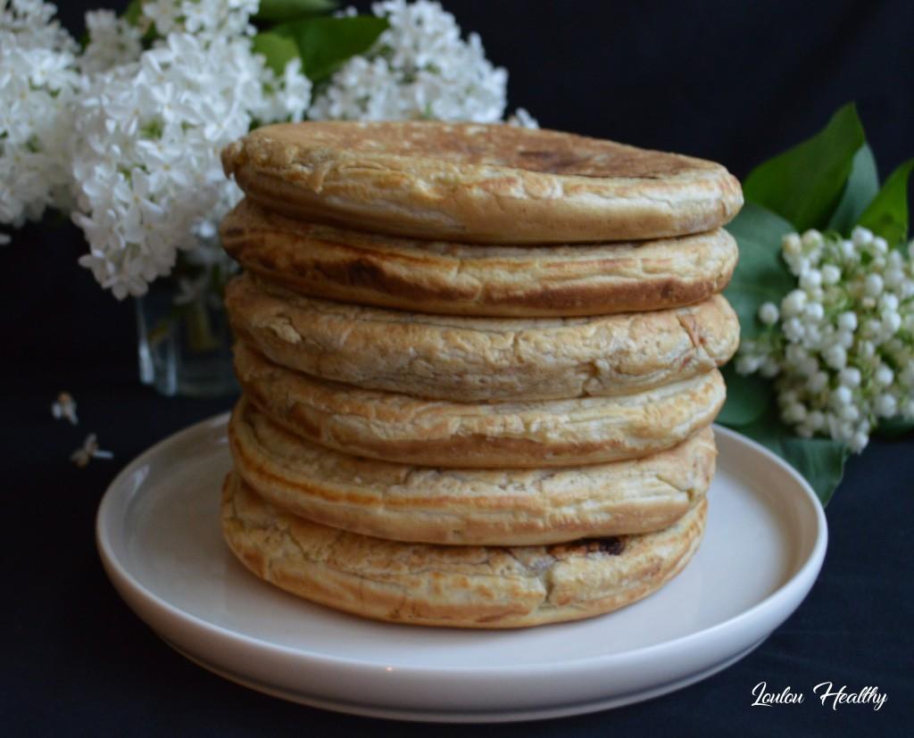 pancakes pommes mûre