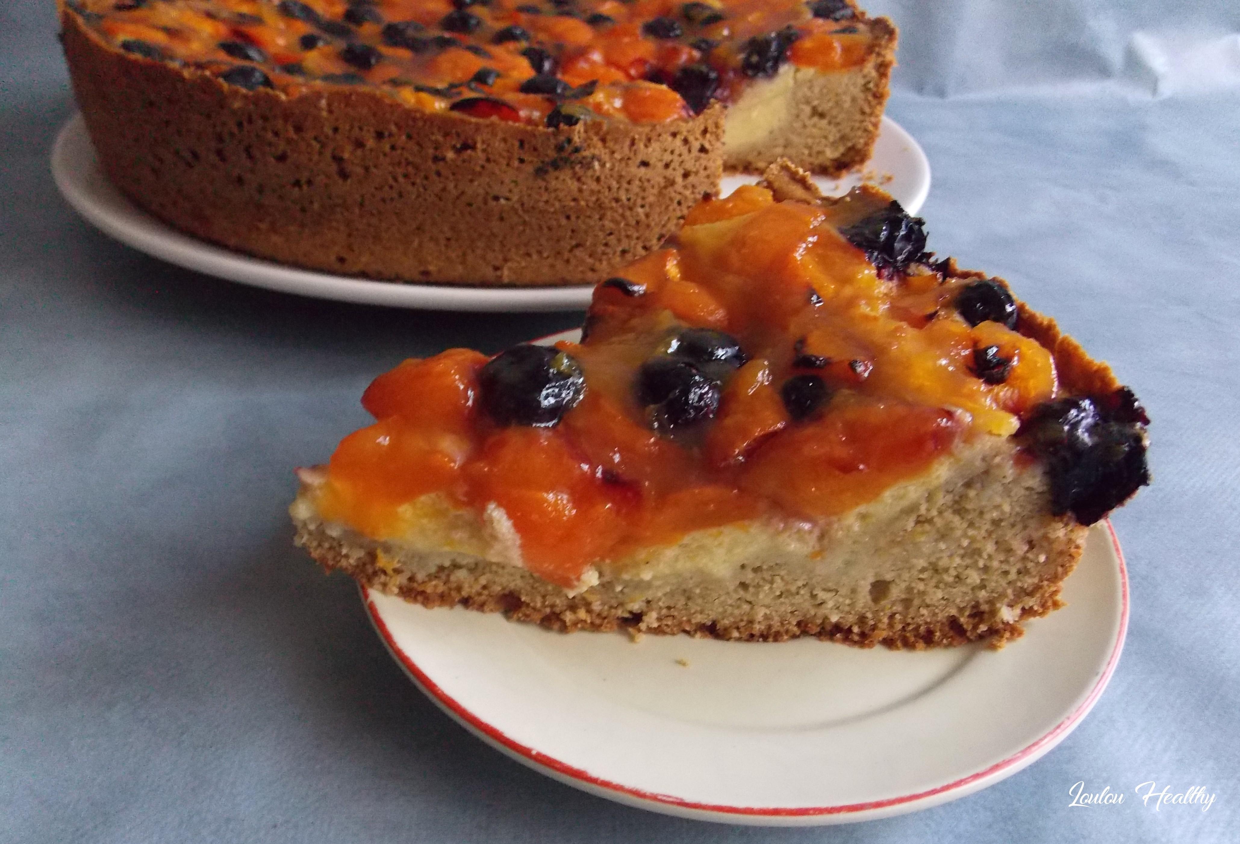 cake flan abricot myrtille2