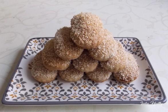 biscuits fourrés crème à la noix de coco