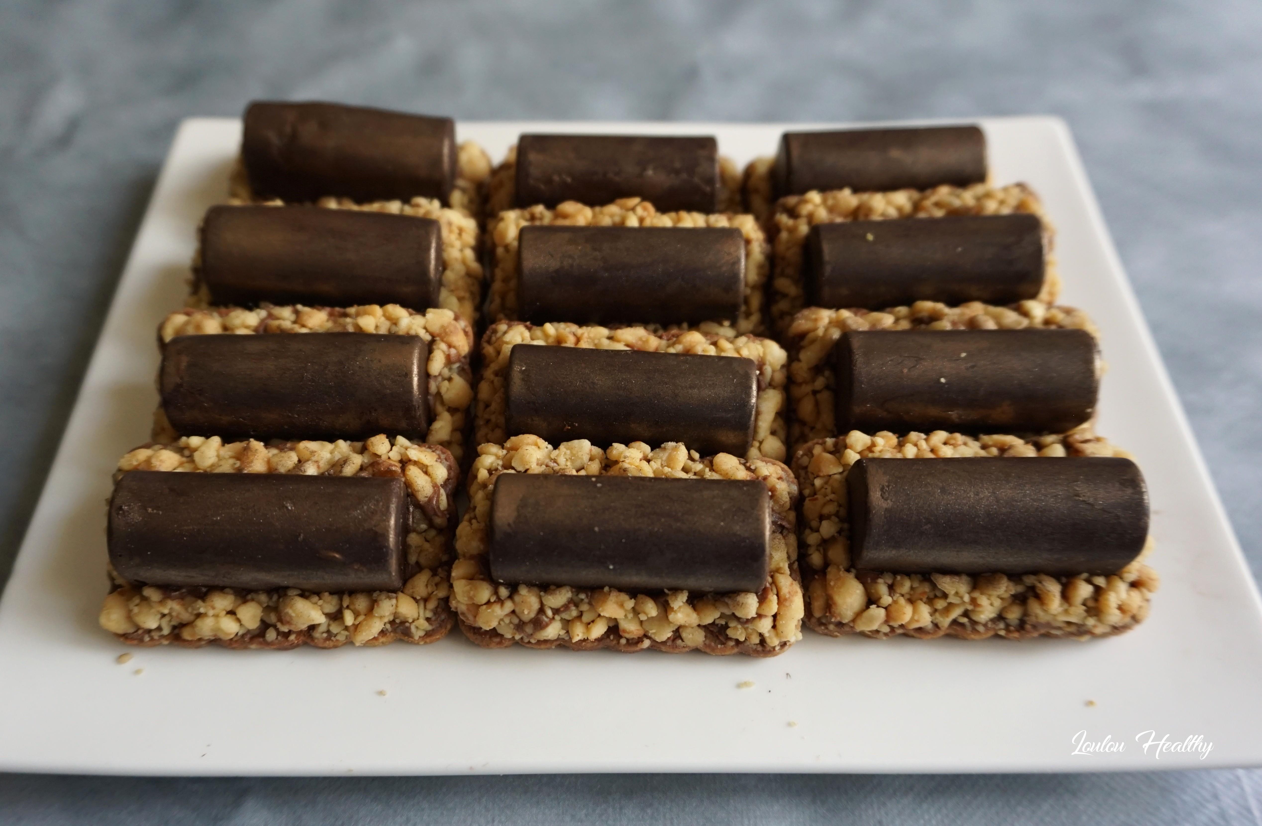 buchettes aux cacahuètes et chocolat3