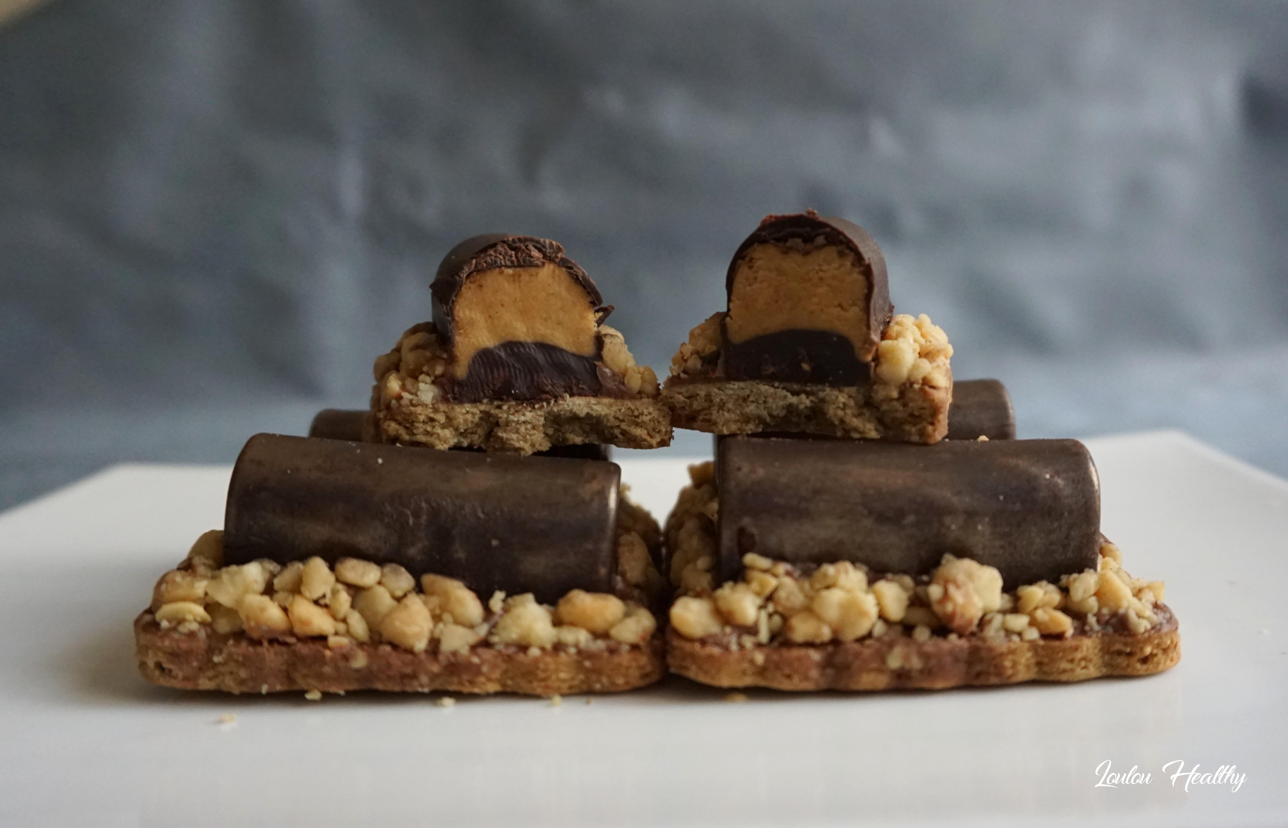 buchettes aux cacahuètes et chocolat4