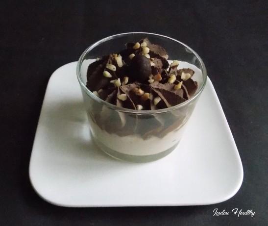 yaourts à l'amande et mousse au chocolat4
