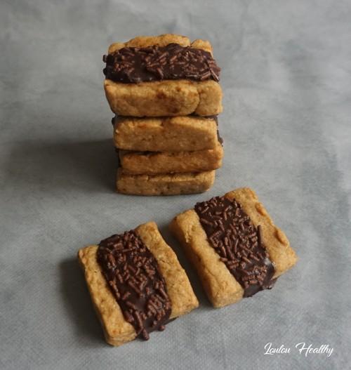 biscuits au chocolat fourrés abricot2