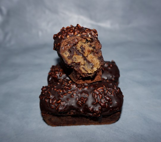 petits cakes chocolat fourrés peanut butter4