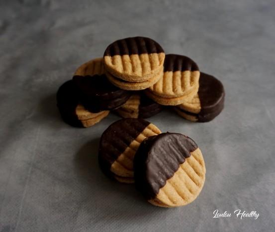pattes d'ours orange et chocolat
