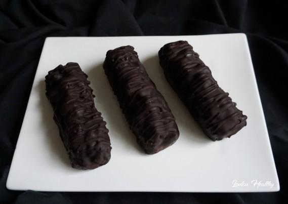 barres chocolat au butternut et aux noix
