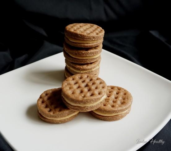 biscuits gaufrés au turron et peanut better2