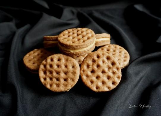 biscuits gaufrés au turron et peanut better3