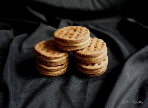 biscuits gaufrés au turron et peanut better4