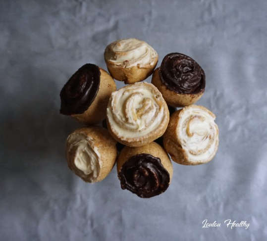 biscuits rose à la poire et aux chocolats2