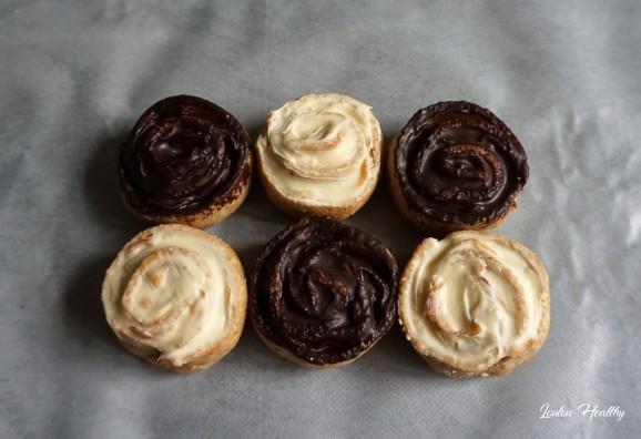 biscuits rose à la poire et aux chocolats3