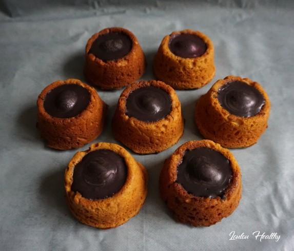 cakes potiron, clémentine, chocolat
