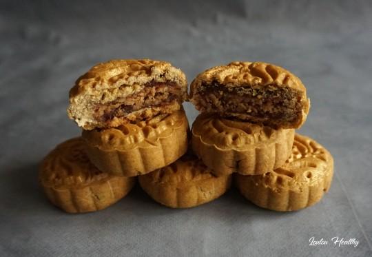 mooncakes dattes cacahuètes
