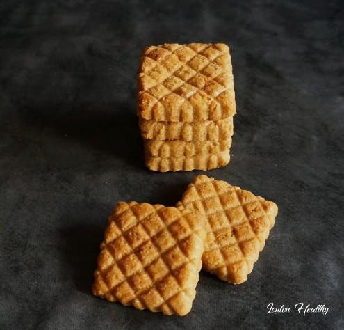 biscuits matelassés pomme-sésame