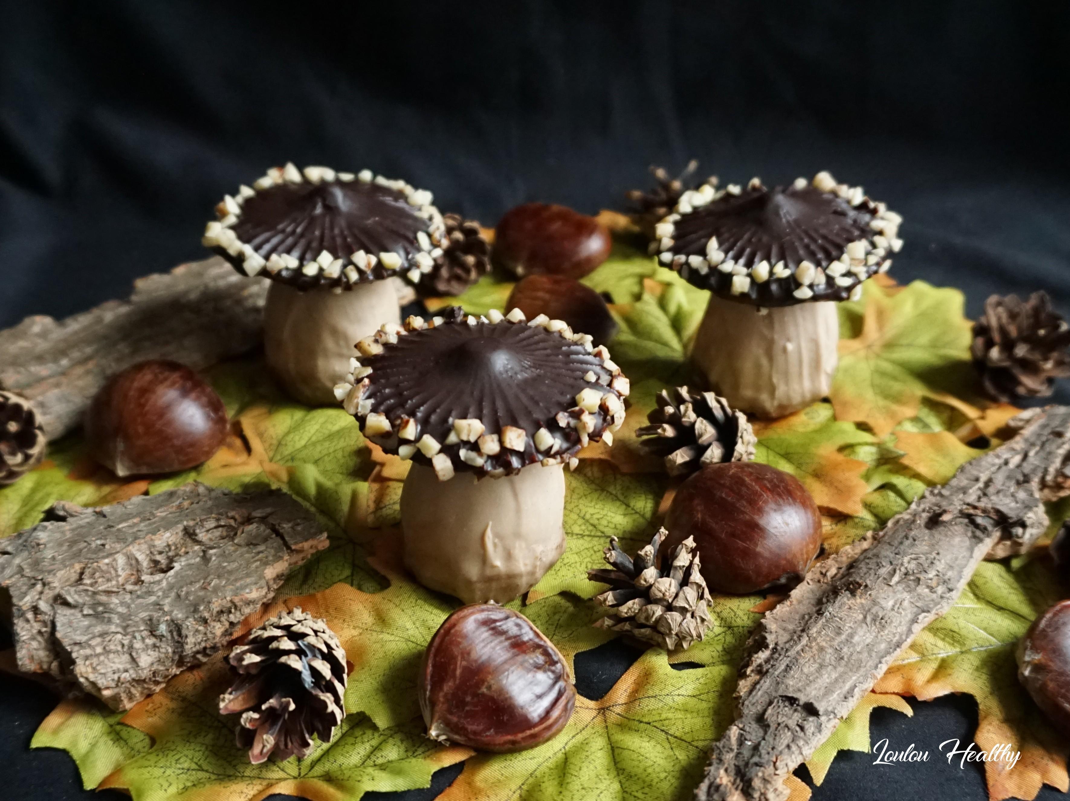 champignons aux chocolats et cassis2