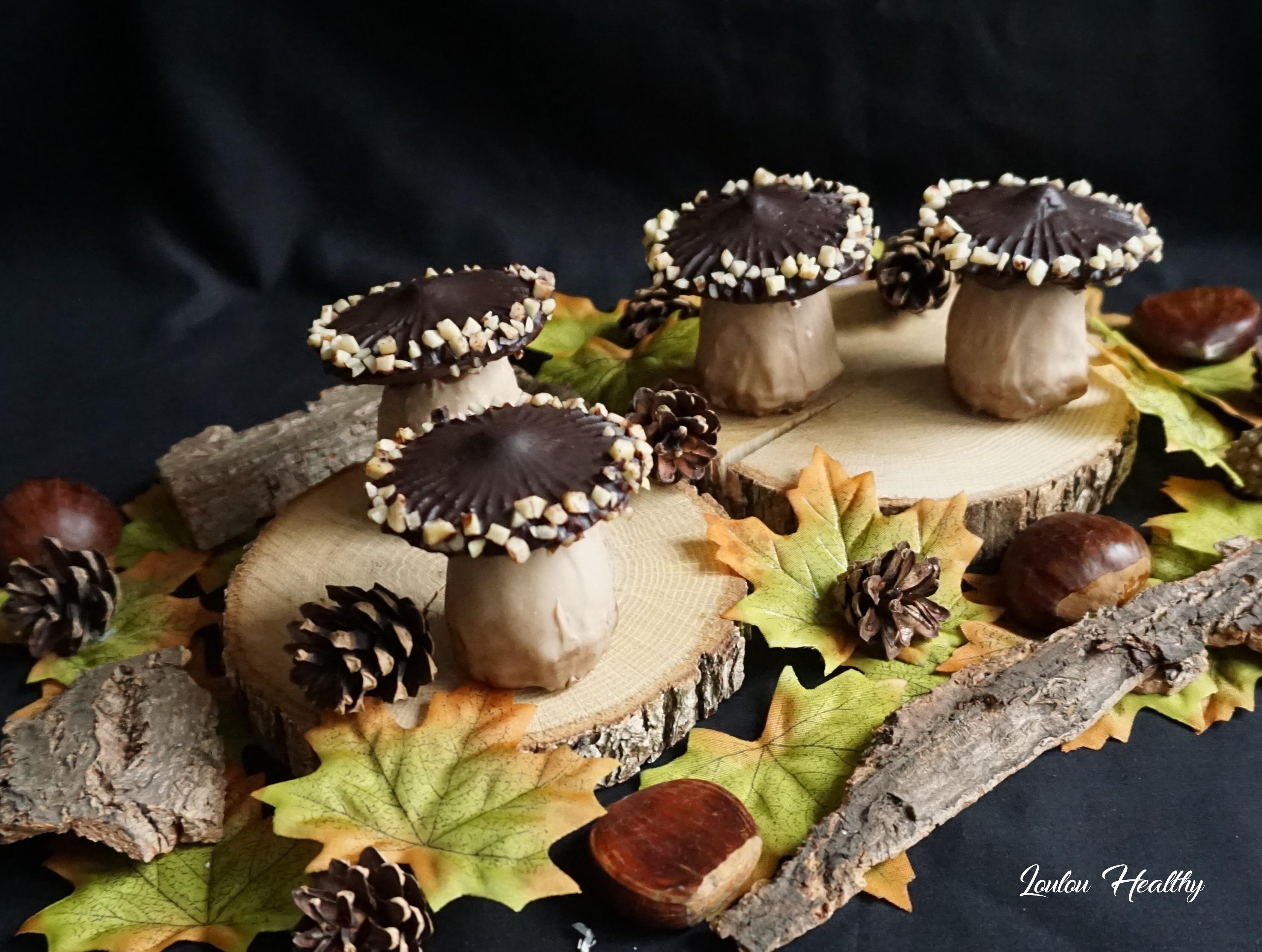 champignons aux chocolats et cassis3