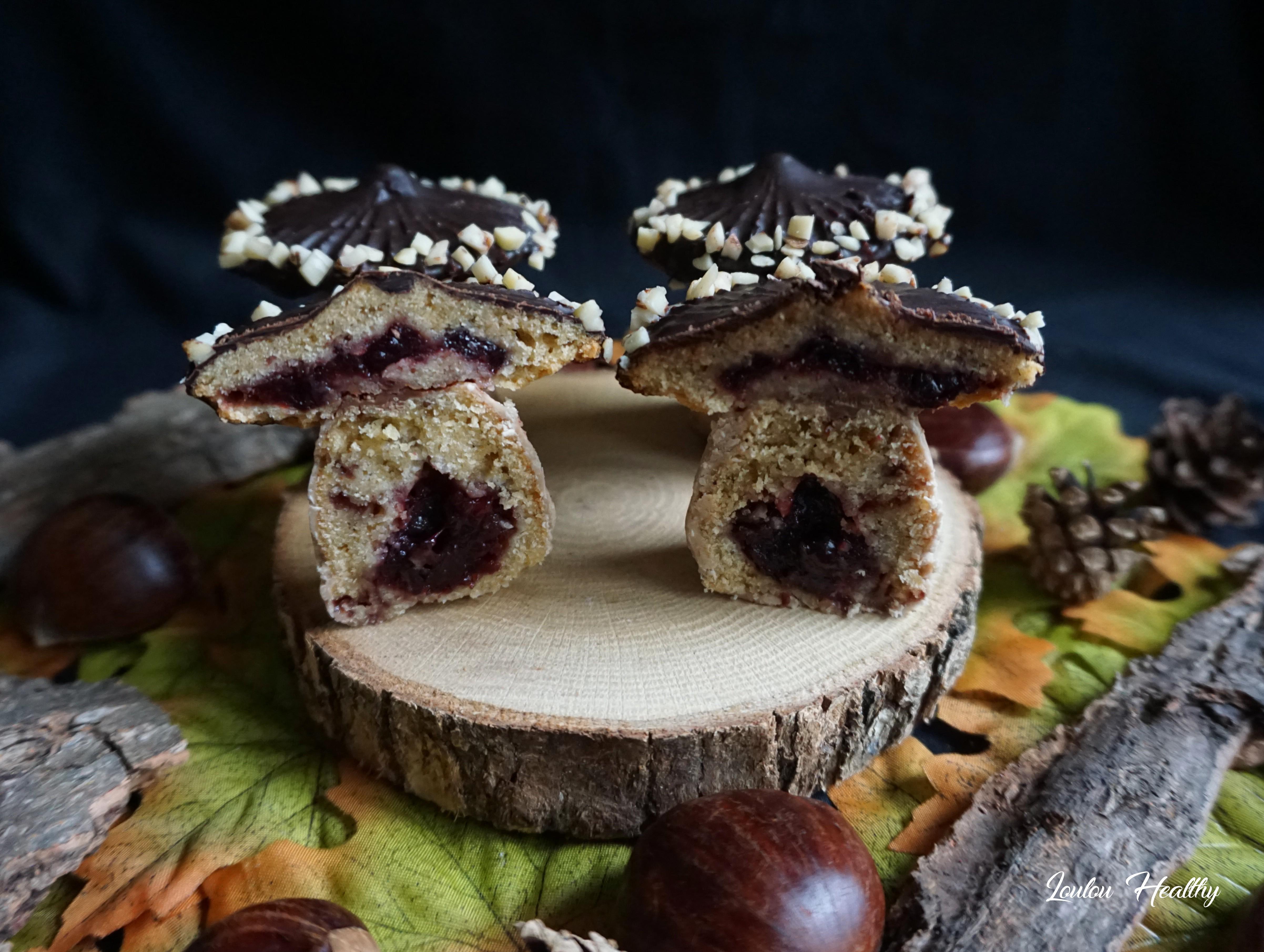 champignons aux chocolats et cassis4
