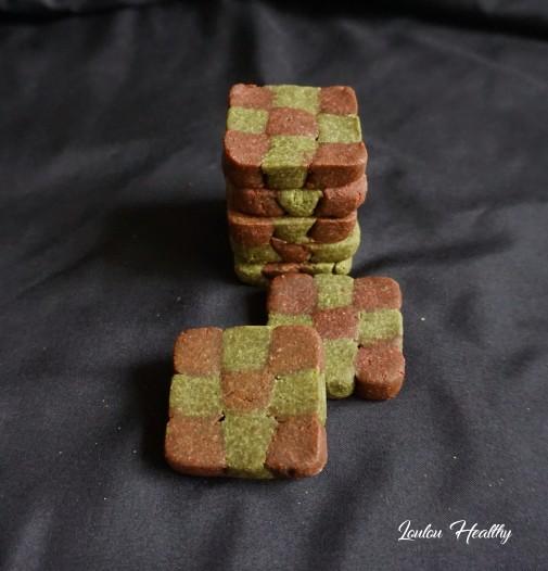 damiers aux noisettes et potiron rose et vert3