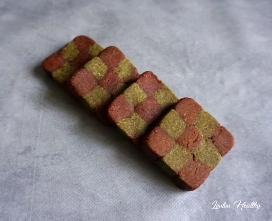 damiers aux noisettes et potiron rose et vert4