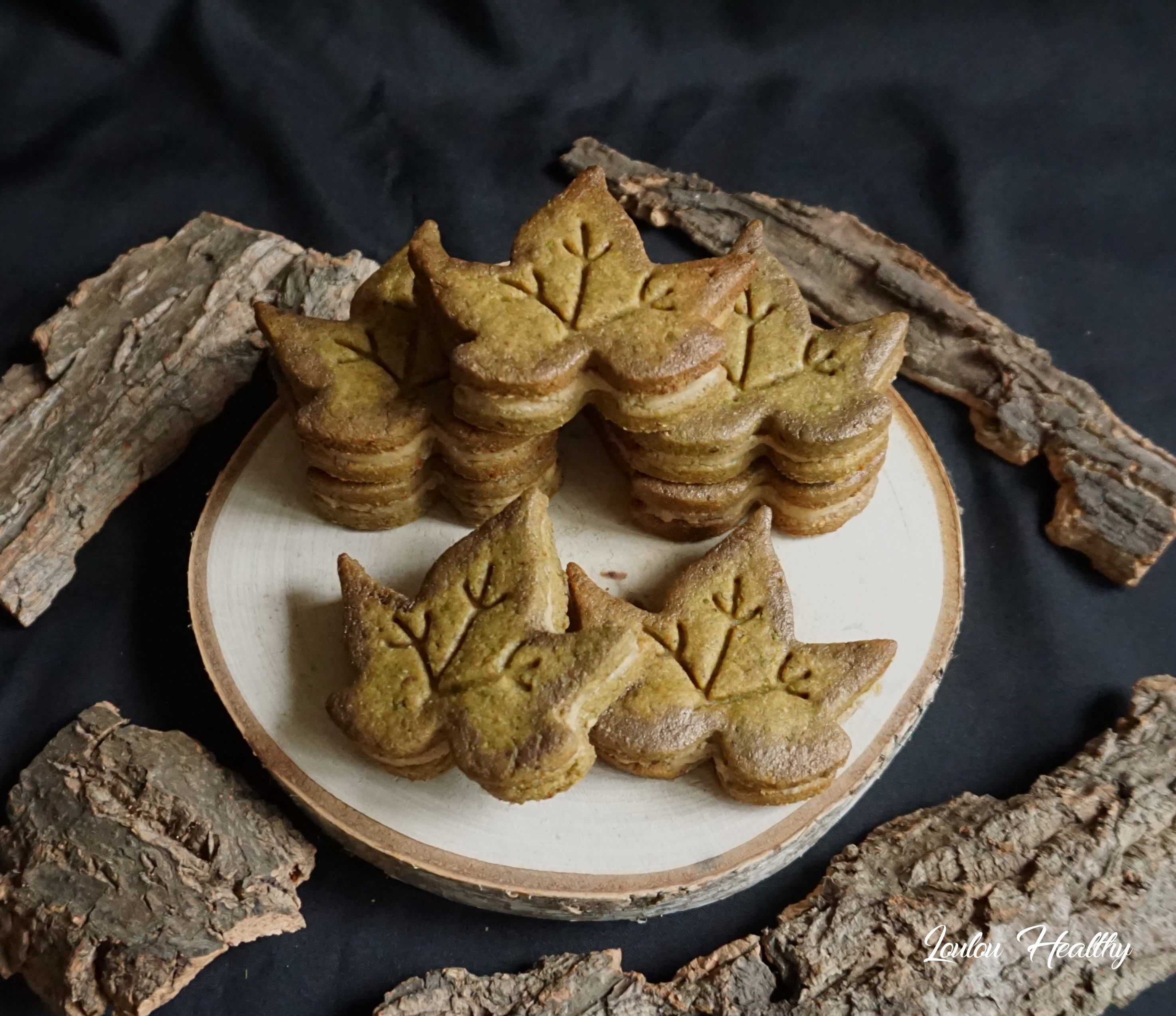 feuilles à la pistache et noix de cajou3