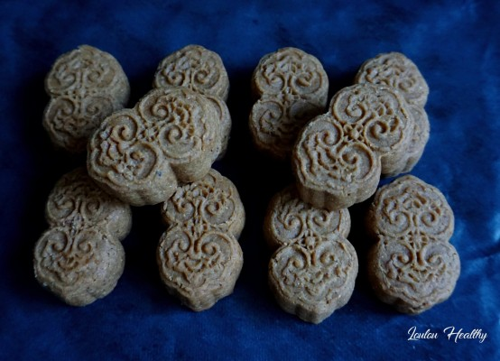mooncakes marrons-noisettes