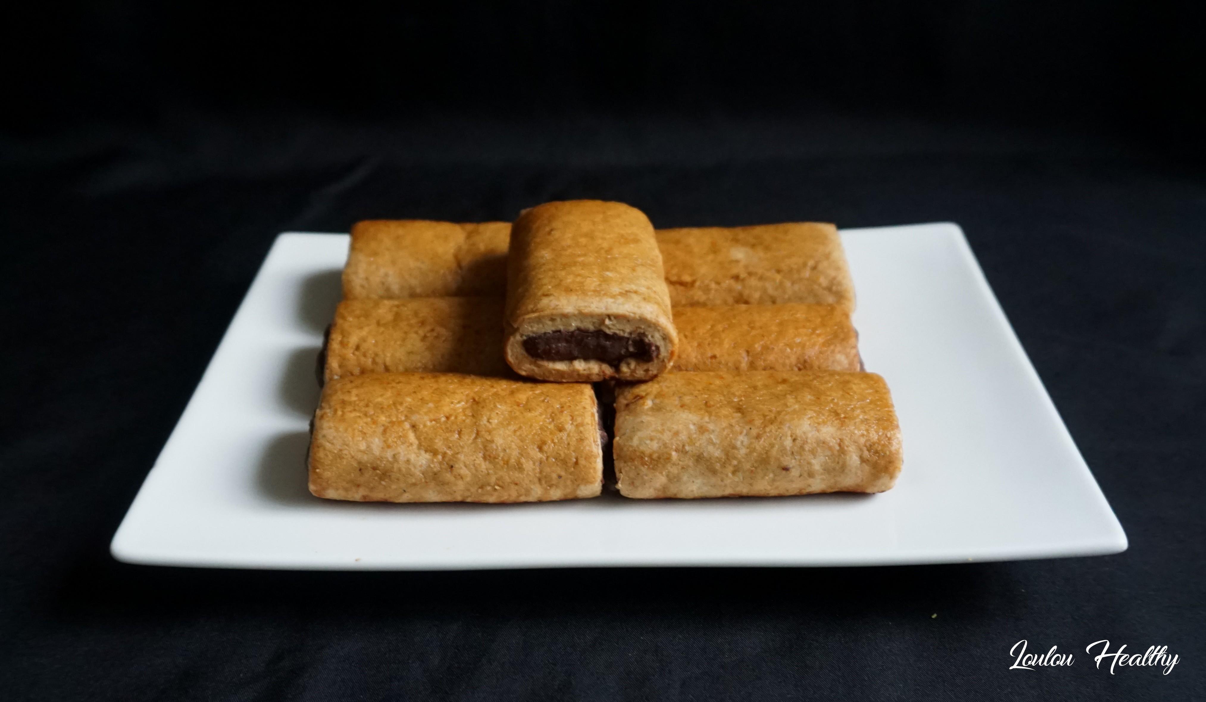 biscuits fourrés peanut butter, cacao façon Kangoo