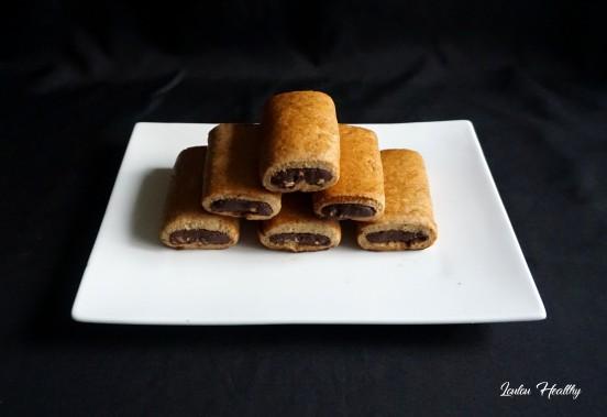 biscuits fourrés peanut butter, cacao façon Kangoo3