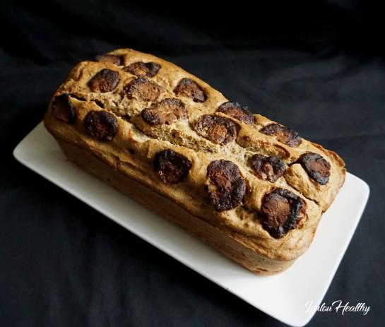 cake léopard dattes, amandes