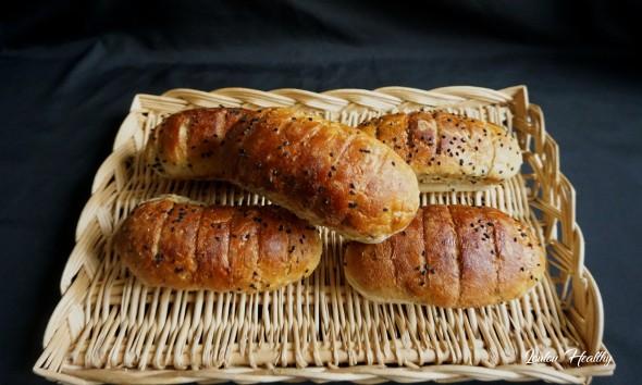 pains au lait et nigelle