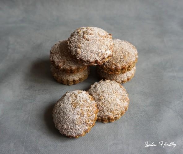 biscuits à la lentille verte fourré citron moringa4
