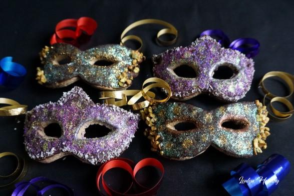 masques de carnaval noisette et chocolat3