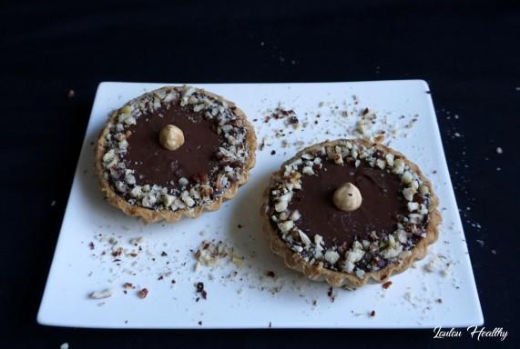 tartelettes poire, noisette et chocolat2