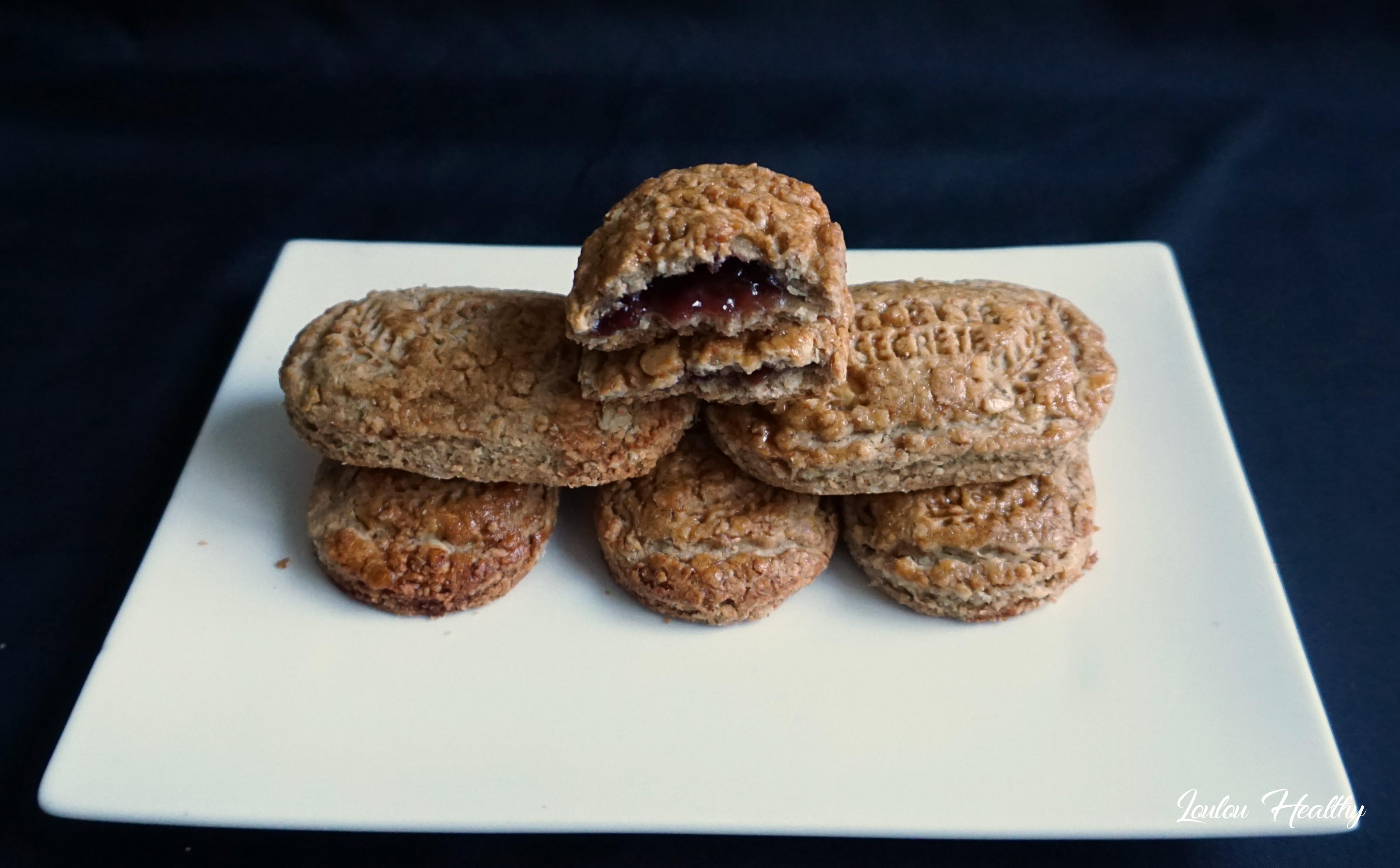 biscuits p'tit dej aux fruits rouges