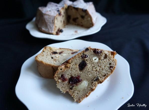 cake chèvre, cranberries, cajou4