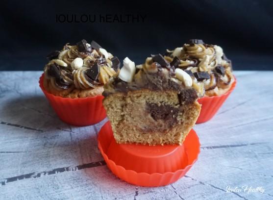 cupcakes cajou-cacao