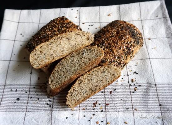 pains complets aux graines