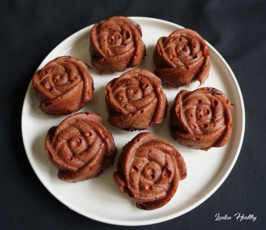 petits cakes rose, myrtilles acérola2