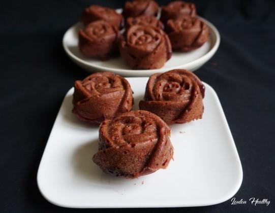 petits cakes rose, myrtilles acérola3