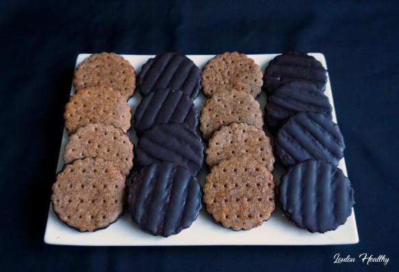 sablés noisette chocolat façon granola