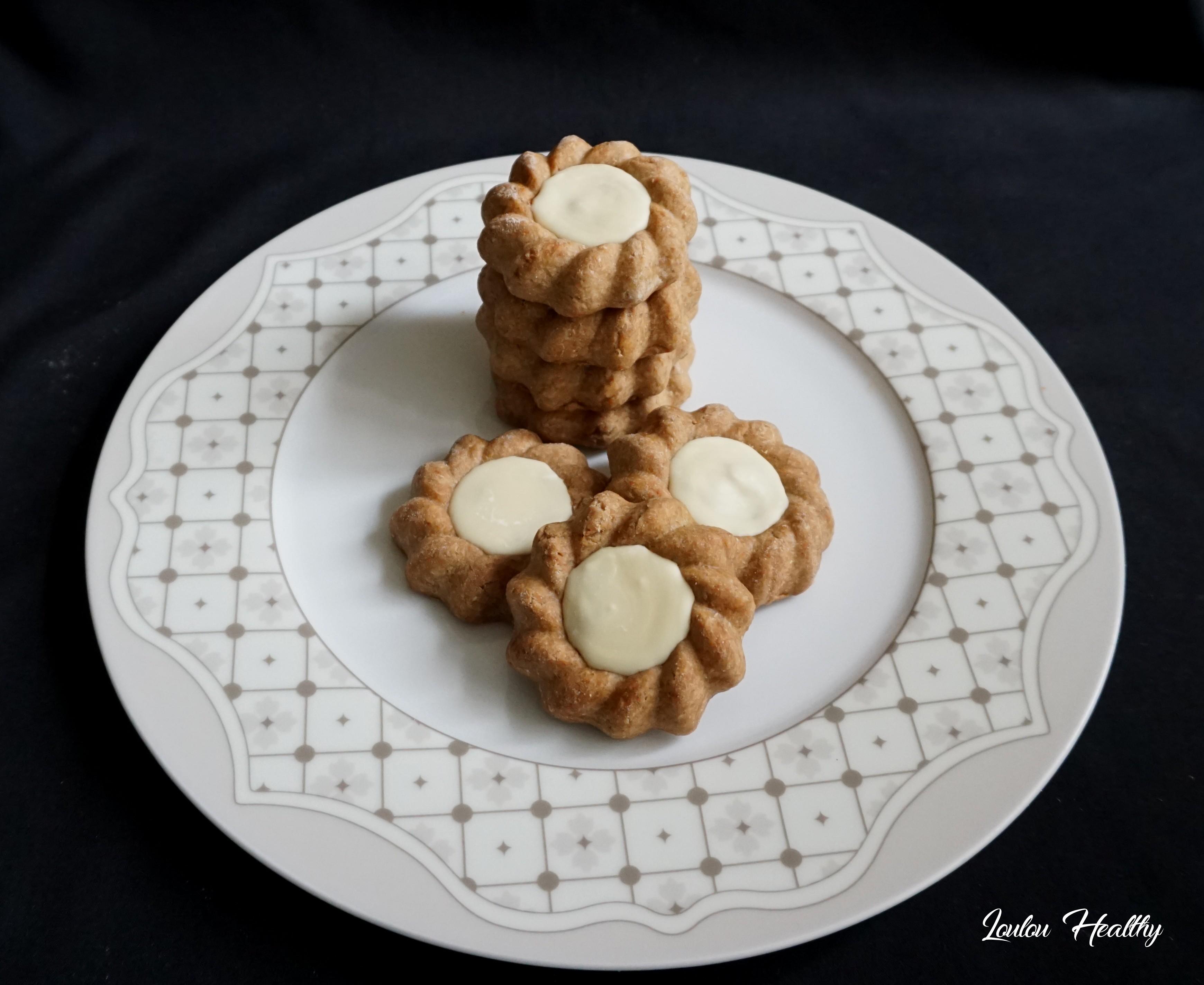 biscuits aux épices, caramel et chocolat blanc3
