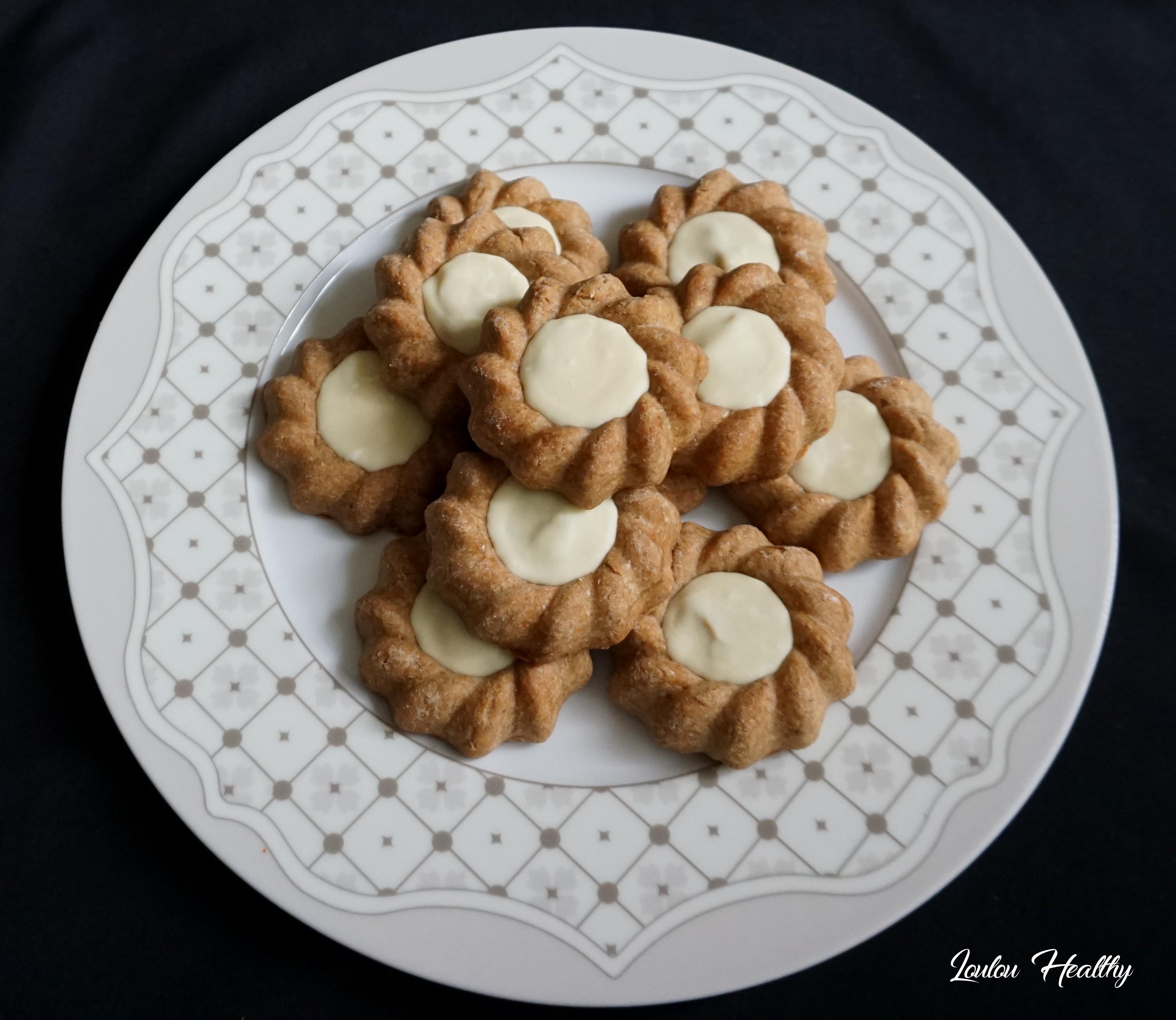 biscuits aux épices, caramel et chocolat blanc4