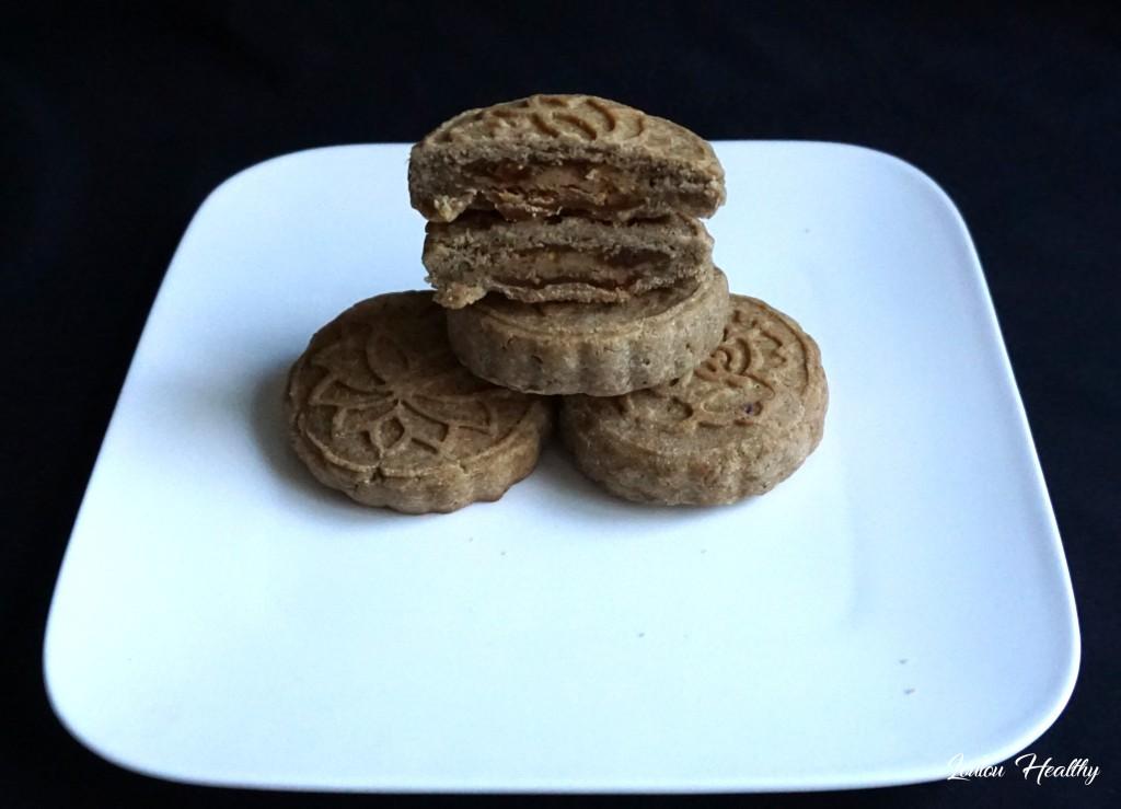 mooncakes fourrés figues, cacahuète et noix4