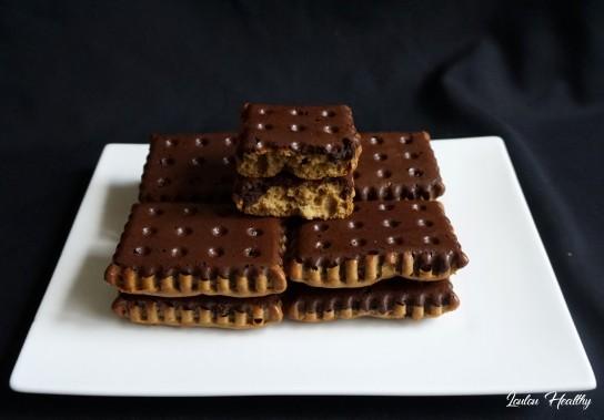 petits cakes à la courge et au cacao